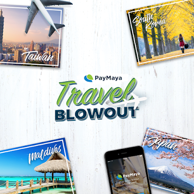 Proud to be Kagay-anon!: Win an all-expense paid trip for two to Taiwan, South Korea, Japan, Maldives in the PayMaya Travel Blowout promo