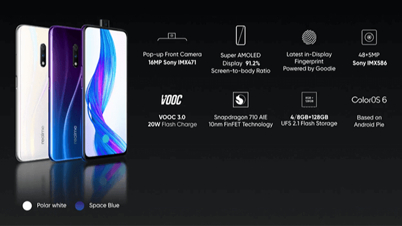 Realme X family announced, a mid-ranger with pop-up selfie cam and 48MP main cam!