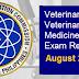 August 2021 Veterinarian, Veterinary Medicine Board Exam Result