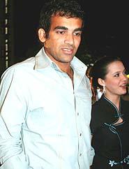 Indian Hot Hot: Isha Sharvani Zaheer Khan