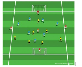 Game system: 4-2-1