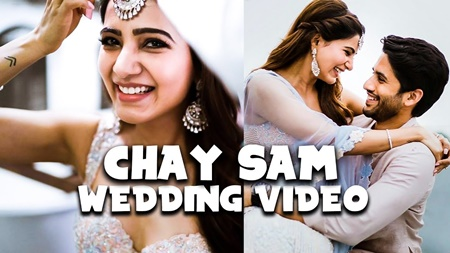 CUTE VIDEOS: Samantha – Naga Chaithanya Wedding Celebrations at GOA, W Hotel Vagator Beach