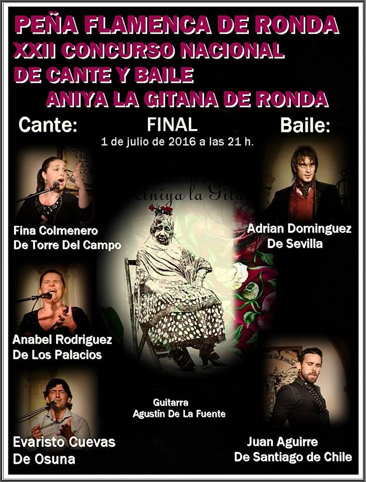 Concursos flamencos final xxii concurso nacional de cante for Concurso de docencia 2016