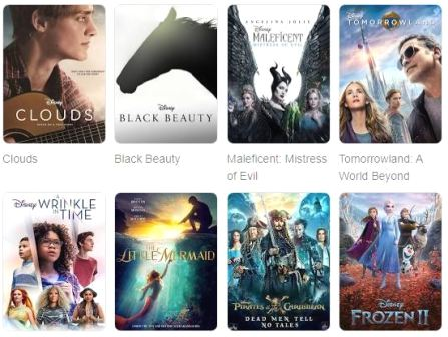 Disney Movies world