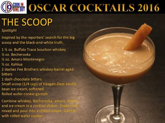 Oscar Cocktails 2016 Spotlight The Scoop