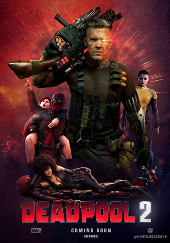 Deadpool 2 2018 English Upcoming Movie Official Trailer HD Poster