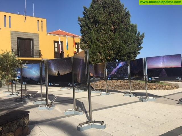 Tijarafe acoge la exposición fotográfica Preservingtheskiesen el marco de la VIII Full Moon Trail