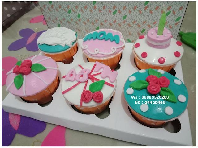 Kue Cupcake Buat Dede Kecil Yang Lagi Ultah