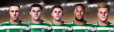 PES 2021 Facepack Celtic FC by Ultra1312