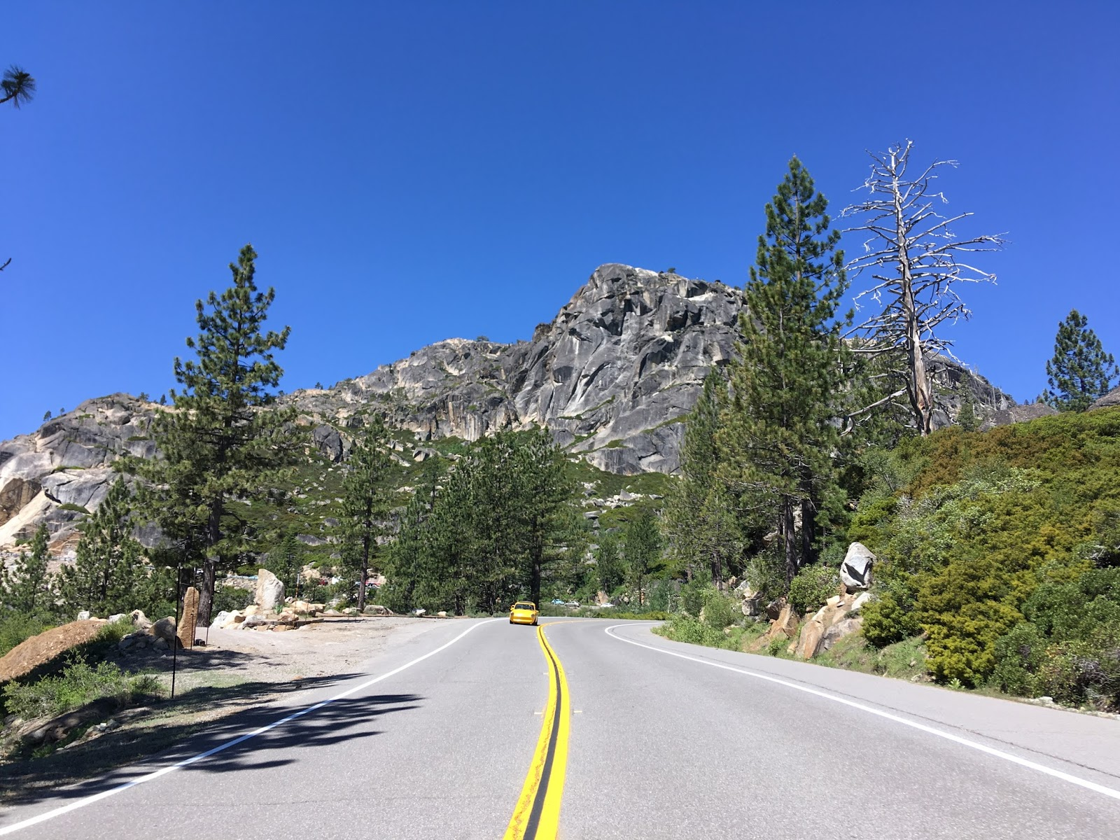 it is easy to see why donner pass road had such a long service life as the lincoln highway and us 40
