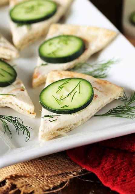 Easy Cucumber Pita Bites Image