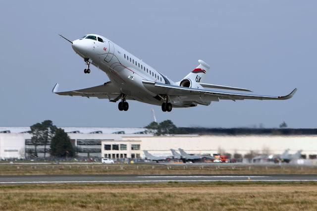 Falcon 6X realiza o primeiro voo com sucesso | É MAIS QUE VOAR