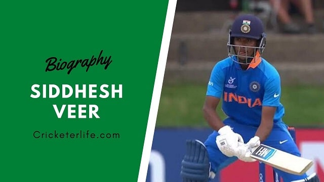 Siddhesh Veer cricketer, biography, height, Stats, Age, records, etc.