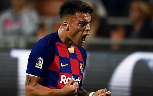 رسمياً لاوتارو مارتينيز الى برشلونة 2021