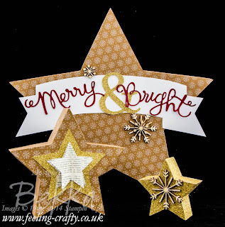 Get your Many Merry Stars Simply Created Kit here and you will soon have 26 stars to decorate your home and use for gifts