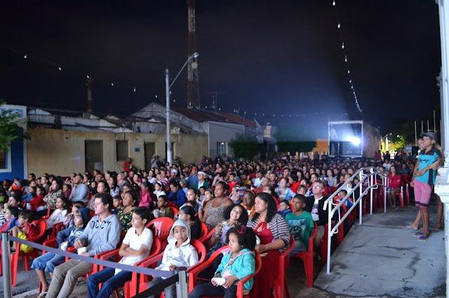 Cine Sesi chega a Condado com programação especial no Praça da Prefeitura