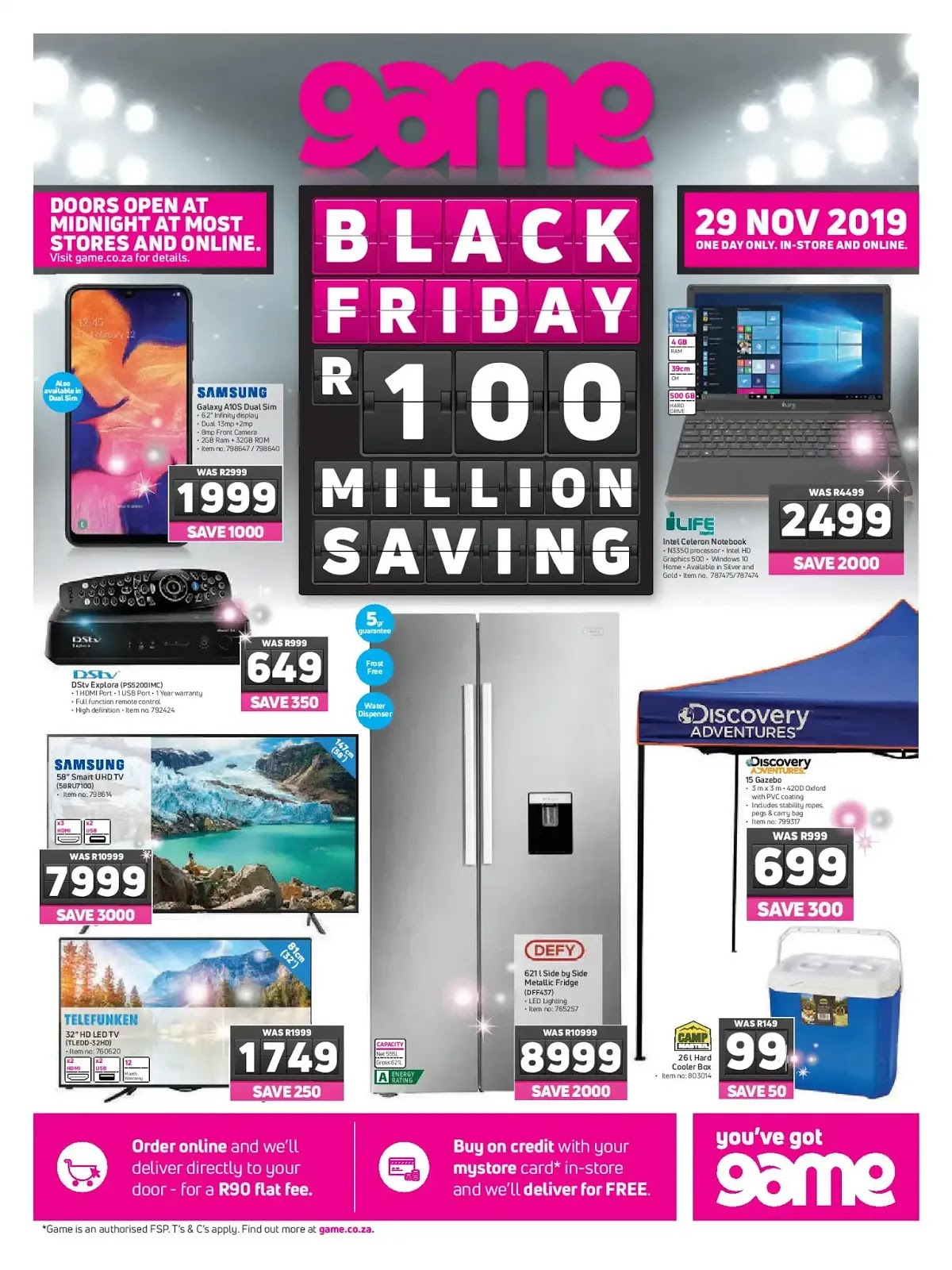 Game Black Friday 2019 Page 1