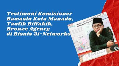 Pak Taufik Bilfakih di Bisnis 3i-Networks