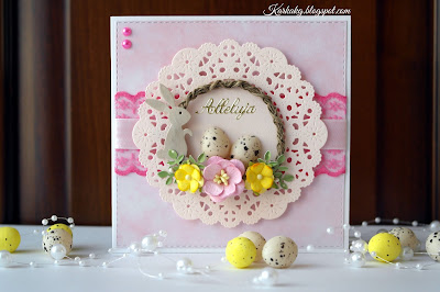 Radosna Kartka Wielkanocna