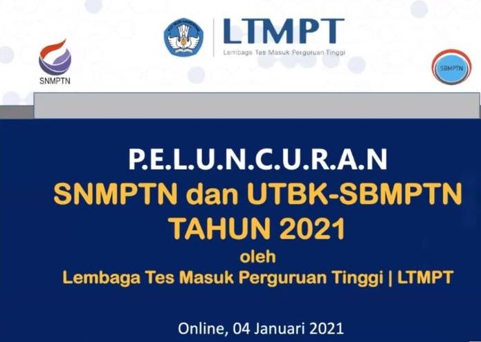 Jadwal SBMPTN 2021 Cek Informasi Pendaftarannya