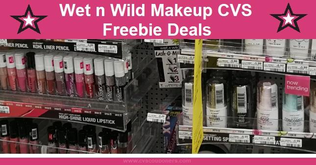 FREE Wet n Wild Makeup CVS Deals