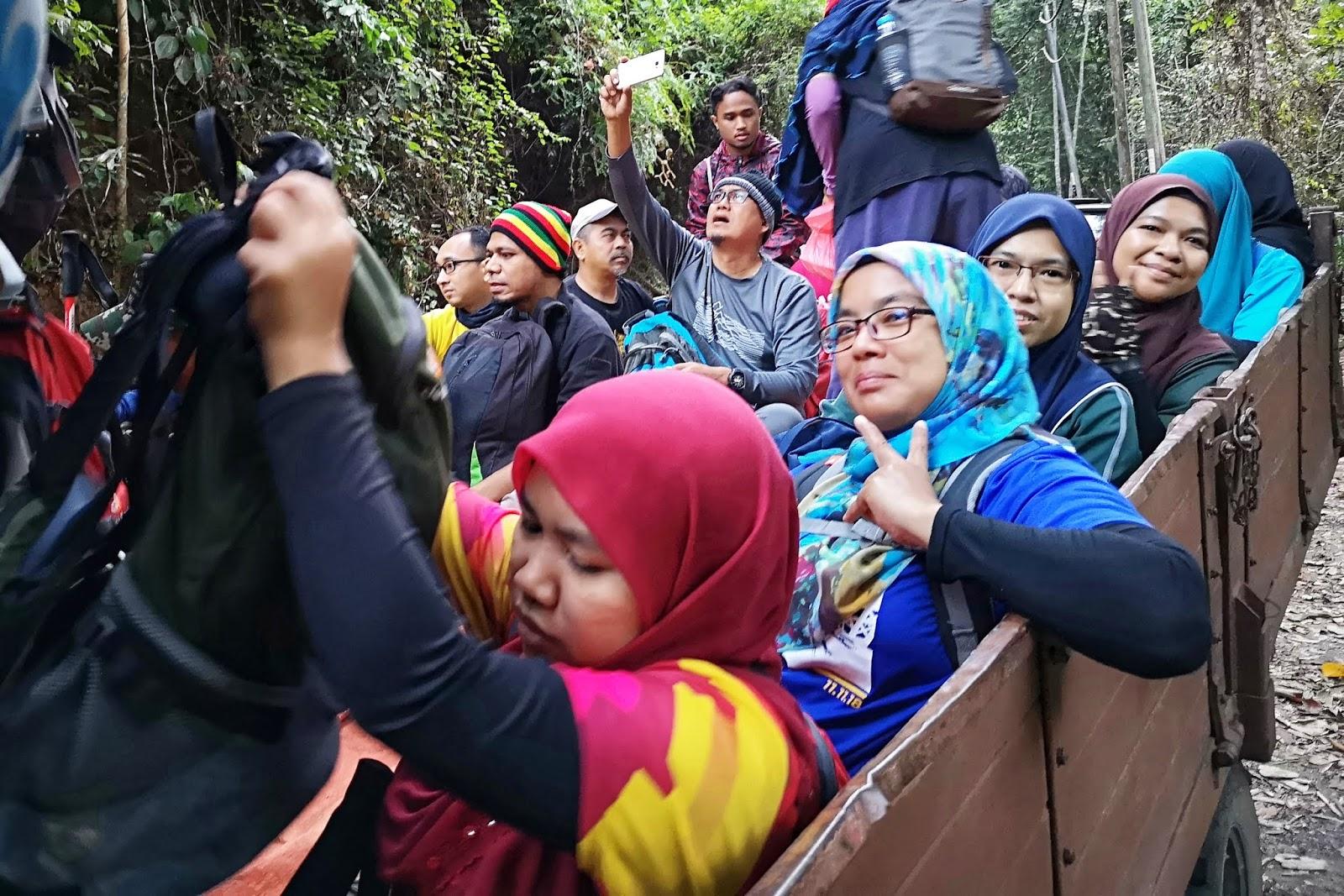 Naik lori Gunung Berembun, Jelebu