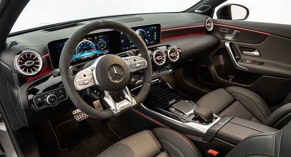 Interior Brabus Mercedes AMG A 45 S 4Matic