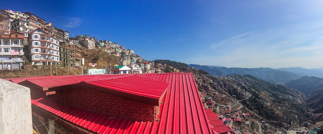 Shimla City Panorama