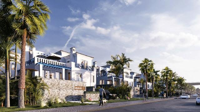 """Mê đắm gam màu trắng xanh """"Địa Trung Hải"""" giữa Hà Nội dự án Sunshine Heritage Resort Phúc Thọ"""