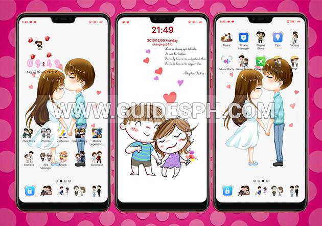Oppo Theme: Romantic Couple Theme