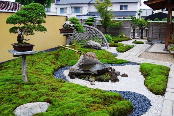 Desain Taman Jepang Modern Sederhana