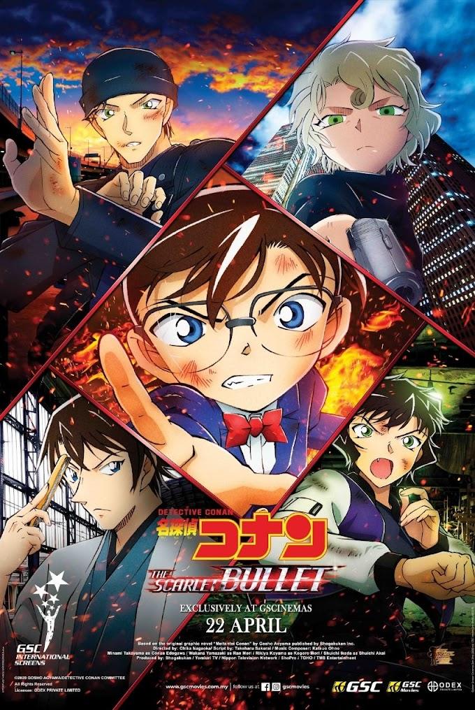 Review Filem Detective Conan: The Scarlet Bullet
