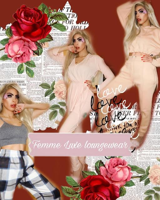 Femme Luxe loungewear sets vanity Owl