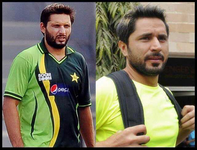 Just Cricket: Shahid Afridi And His Brother
