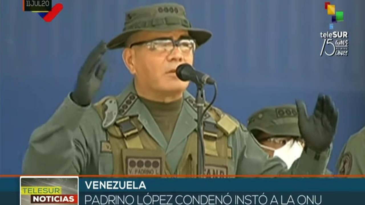 Padrino López: Colombia, el mayor productor de droga