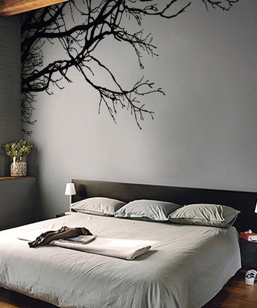 70 gambar stiker dinding kamar tidur dengan motif modern terbaru