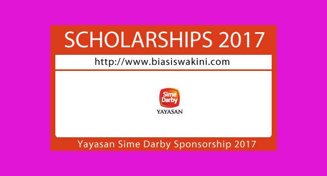 Yayasan Sime Darby Sponsorships 2017