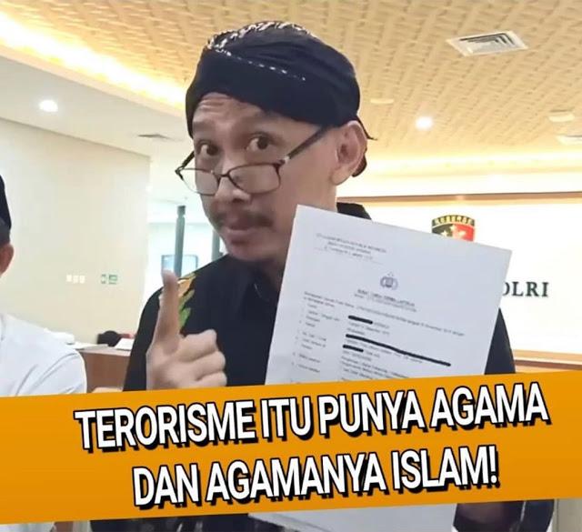 Abu Janda: Teroris Itu Punya Agama, Agamanya Islam