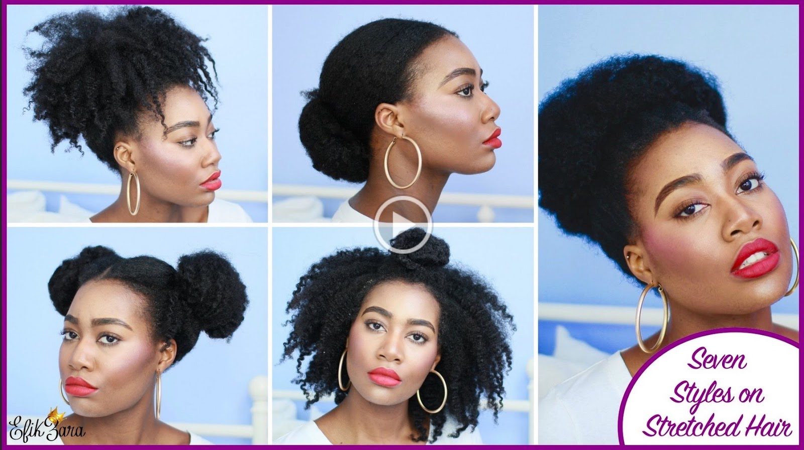 7 Super Easy Styles On Stretched Natural Hair Curlynikki
