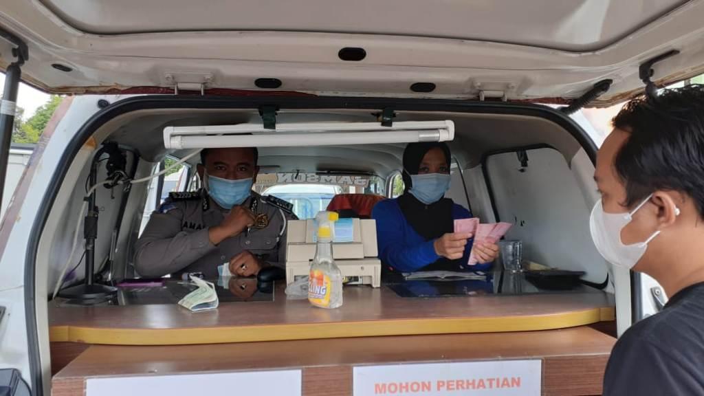 Mobil Samson Sudah Buka Lagi di Alun-alun Kebumen