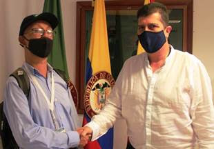 Juan Carlos Pulgarín llega al equipo de comunicaciones de la Gobernación