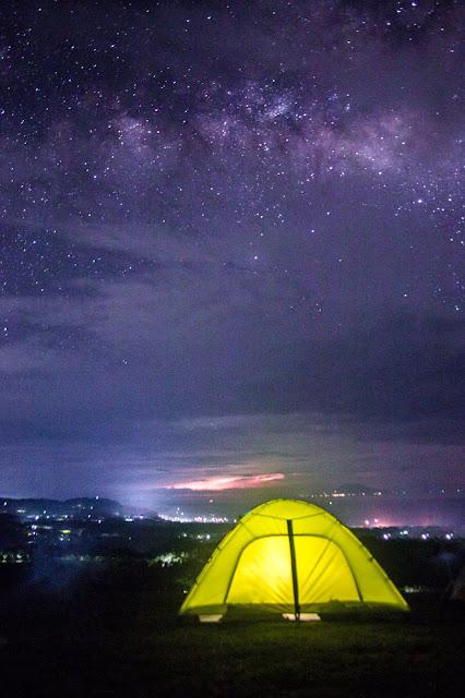 namiot, Filipiny, biwakowanie na Filipinach