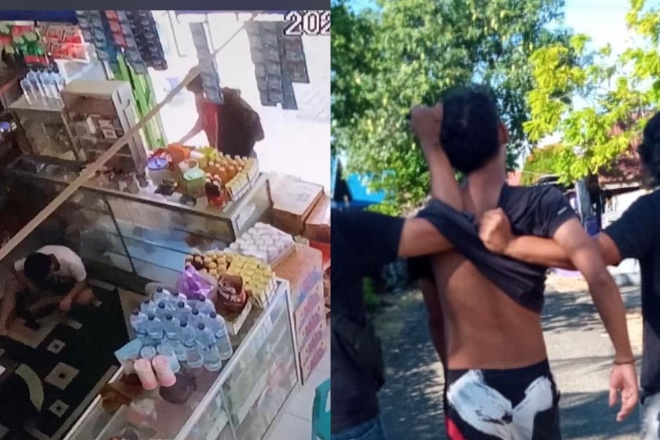 Gasak Belasan Bungkus Rokok di Warung, Pemuda di Bone Diamankan Polisi