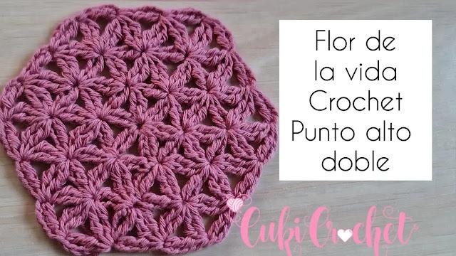Como Tejer Flor de la Vida a Crochet