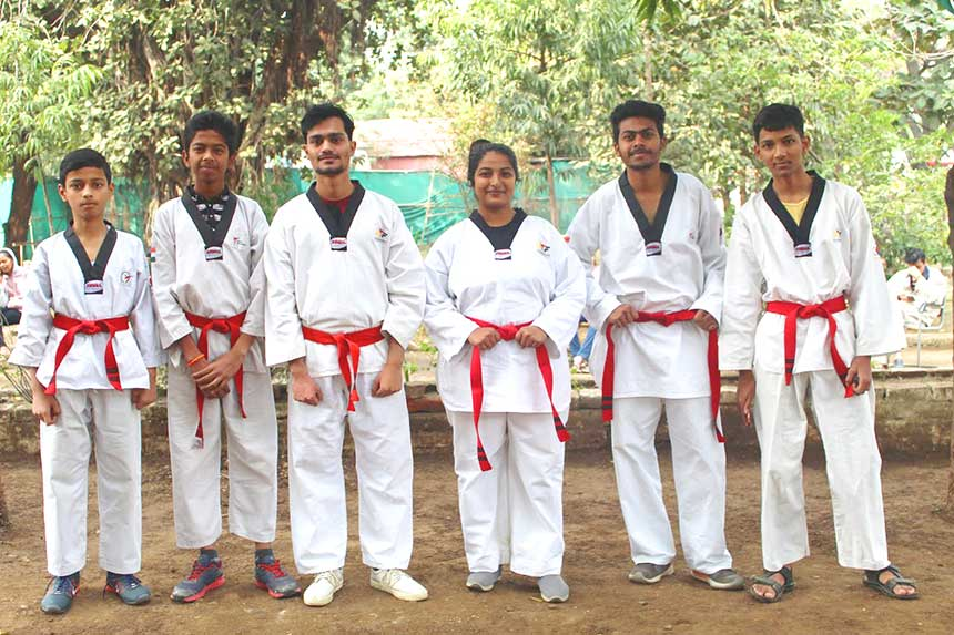 Colour Belt Exam & Black Belt Distribution