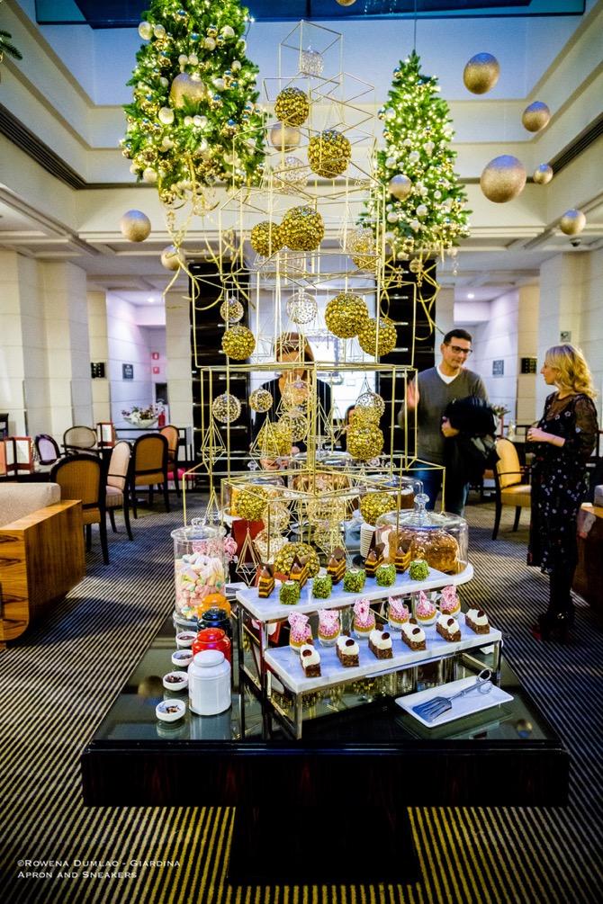 Grand Hotel Via Veneto In Rome Italy A Festive Afternoon Tea
