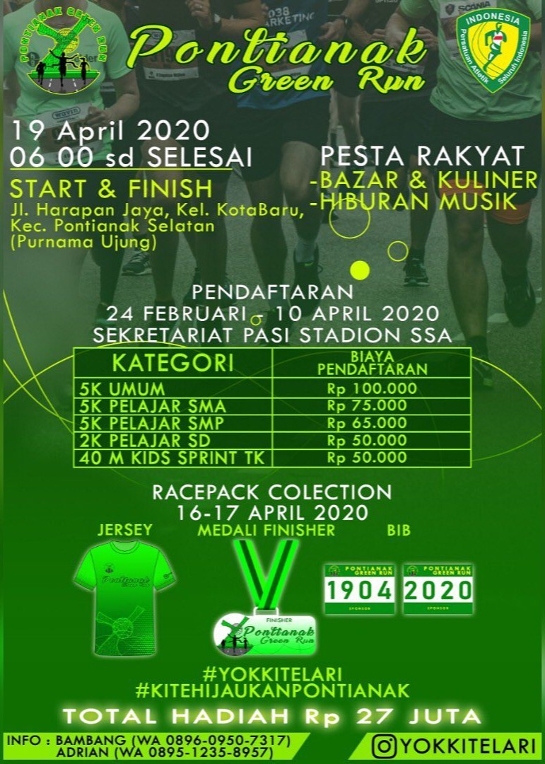 Pontianak Green Run • 2020