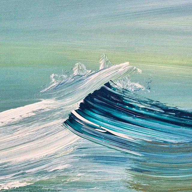 Christian Ruckerbauer: el pintor de olas