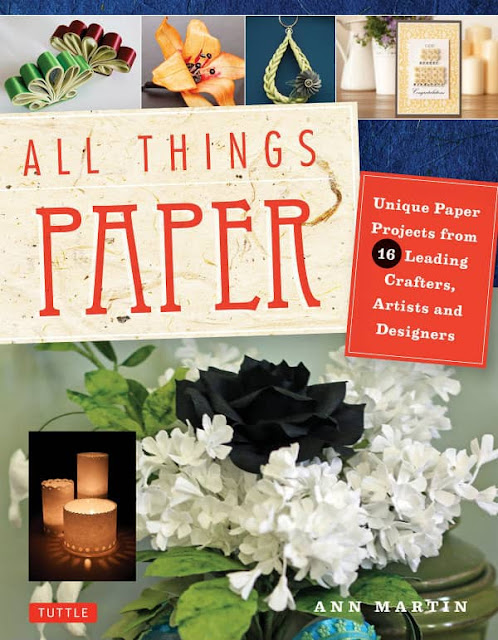 cover of All Things Paper, a project-based paper craft book