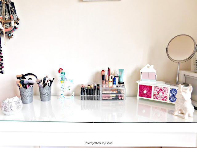 ikea malm dressing table, dressing table, dressing table ideas, makeup storage